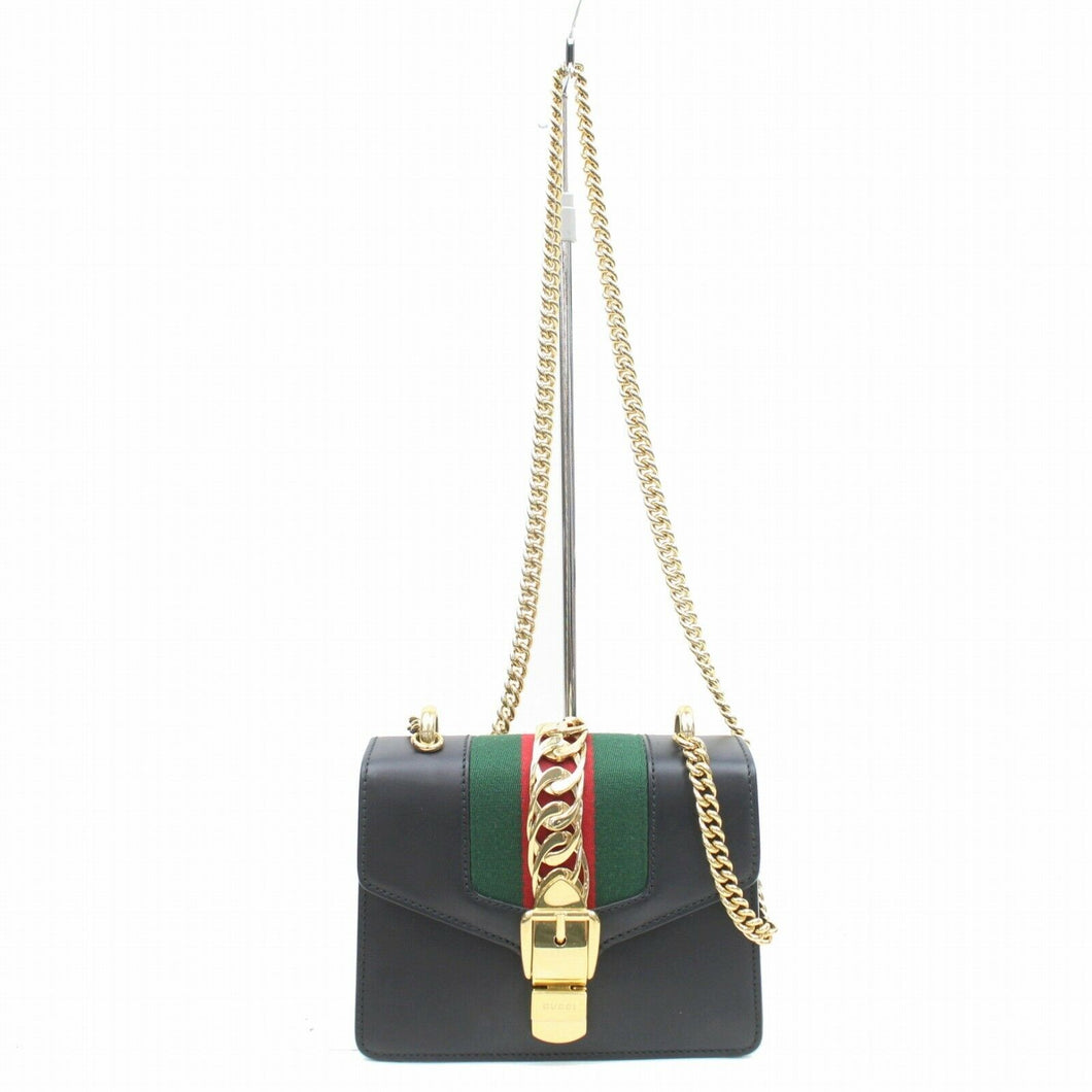 Gucci Sylvie Small Top Handle Bag