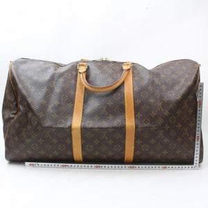Louis Vuitton Monogram Keepall 60 Bandouliere Travel Carry On