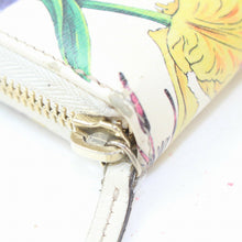 Load image into Gallery viewer, Gucci Floral Zip Around Wallet