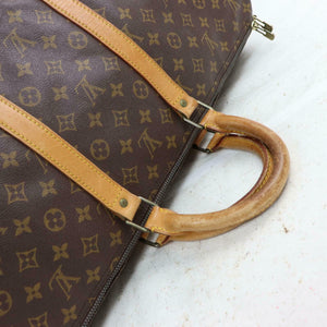 FLASH SALE! Louis Vuitton Monogram Keepall 55 Duffle Travel Bag