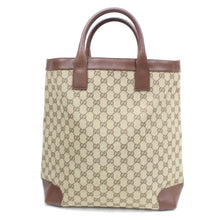 Load image into Gallery viewer, Gucci Top Handle GG Canvas Tote