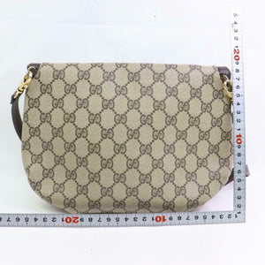 Gucci GG Canvas Crossbody Shoulder Bag