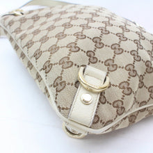 Load image into Gallery viewer, Gucci Abbey GG Brown Canvas Messenger Bag