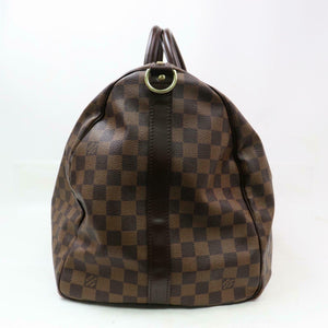 Louis Vuitton Damier Ebene Keepall Bandouliere 55