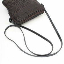Load image into Gallery viewer, Fendi Brown Zucca Canvas Crossbody Bag