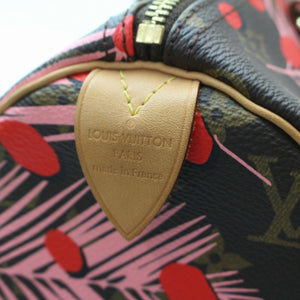 2016 Louis Vuitton Monogram Palm Springs Speedy 30 Sugar Pink Poppy