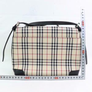 Burberry London Nova Check Crossbody Shoulder Bag
