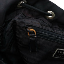 Load image into Gallery viewer, ON SALE- Prada Leather-Trimmed Tessuto Backpack