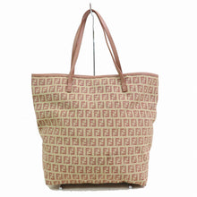 Load image into Gallery viewer, Fendi Pink Zucca Canvas Tote Bag