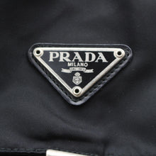 Load image into Gallery viewer, Prada Black Vela Nylon Backpack