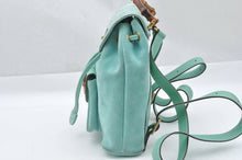 Load image into Gallery viewer, Gucci Bamboo Light Green Backpack