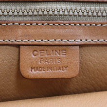 Load image into Gallery viewer, Céline Leather-Trimmed Macadam Satchel