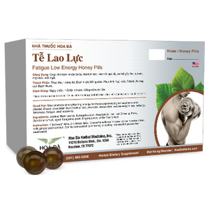 Fatigue Low Energy Honey Pills