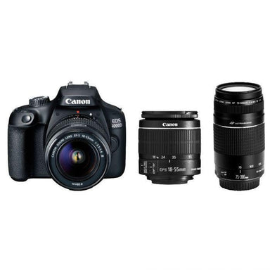 Canon EOS 4000D Bundle 2 Lenses
