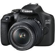 Canon EOS 2000D Bundle 2 Lenses.