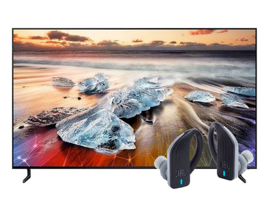 "Samsung 65"" 8K QLED Smart TV 65Q900R JBL Endurance PEAK Earphones"