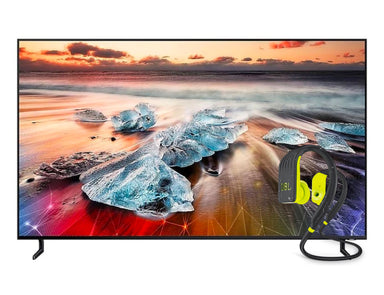 "Samsung 75"" 4K QLED Smart TV UHD 75Q900R JBL Endurance Dive Earphones (Lime)"