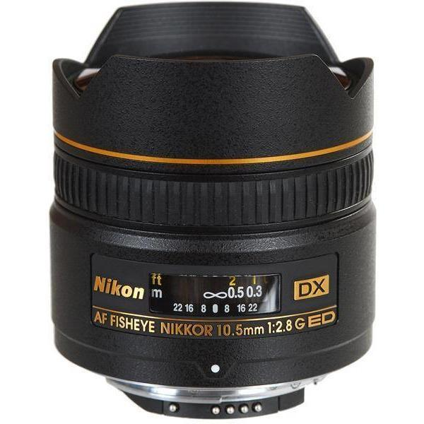 Nikon 10.5MM F2.8G AF DX IF-ED FISHEYE-NIKKOR LENS