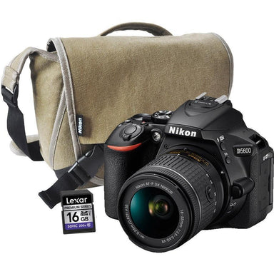 Nikon D5600  Bundle Lens + Bag + 16GB Card