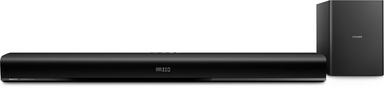 Philips Soundbar Speaker With Wired Subwoofer HTL1193B/98
