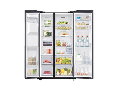 Samsung SBS 617L Fridge Gentle Black