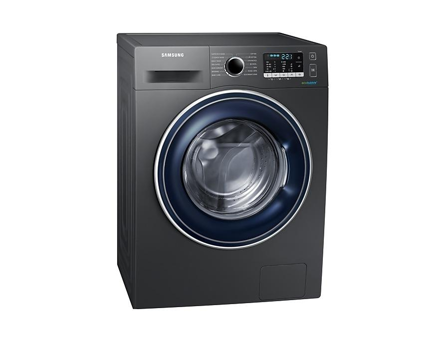 Samsung Washing Machine with ecobubble™, 8kg WW80J5555FX