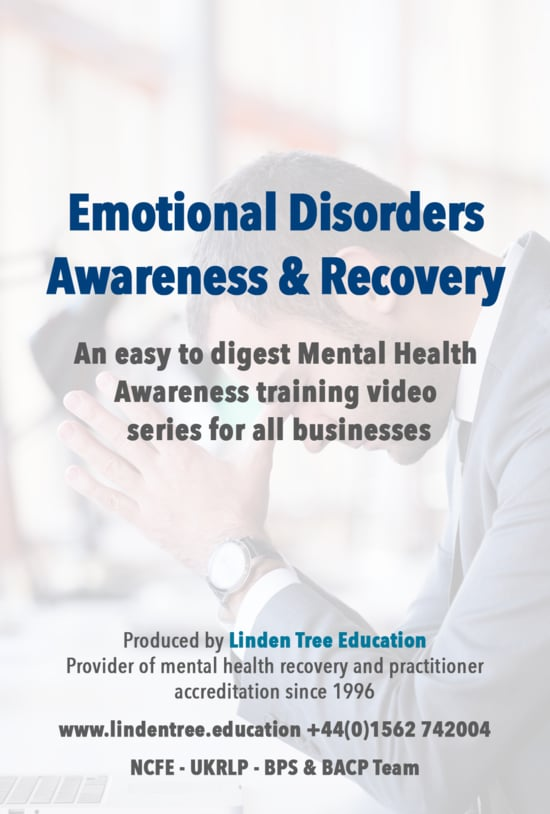 Corporate Training Video Series - Mental Health & Disorders of The Emotions