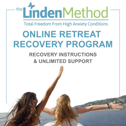 Retreats Anxiety Recovery Program with Unlimited Professional Email and Phone Recovery Guidance & Support