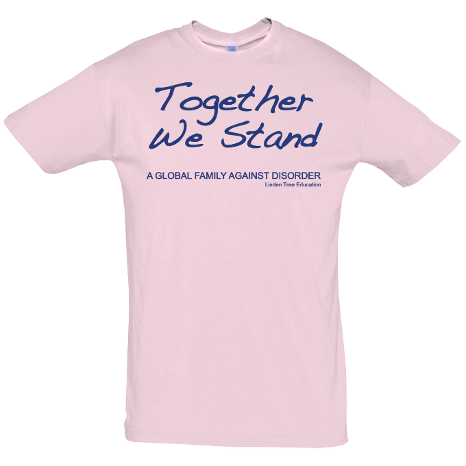 Together We Stand T-Shirt - Handwriting Design