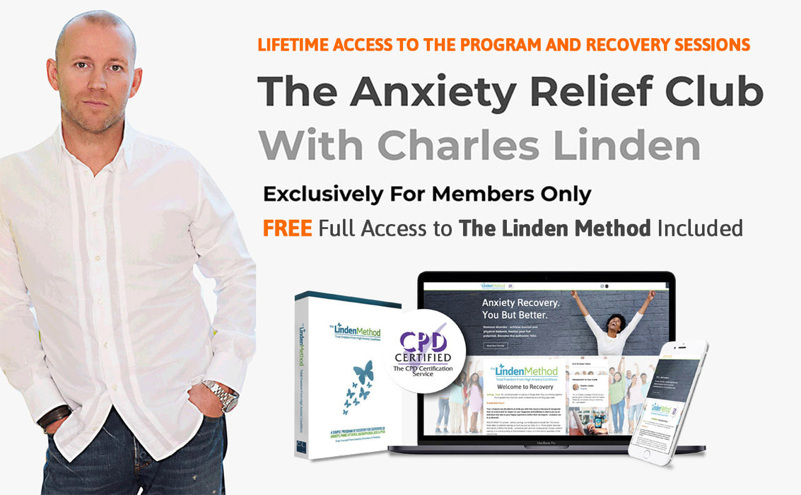 Health Anxiety Recovery in The Anxiety Relief Club + The Linden Method FREE