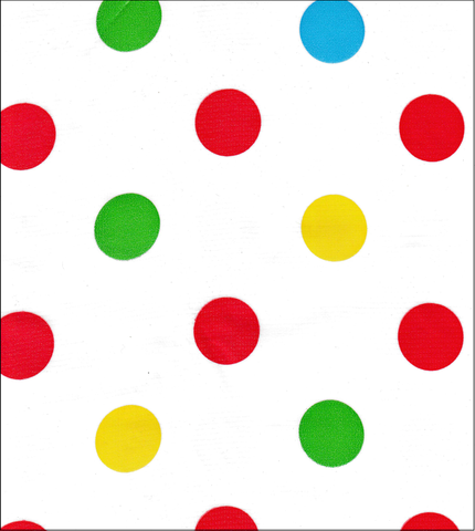 Big Dot Red Oilcloth