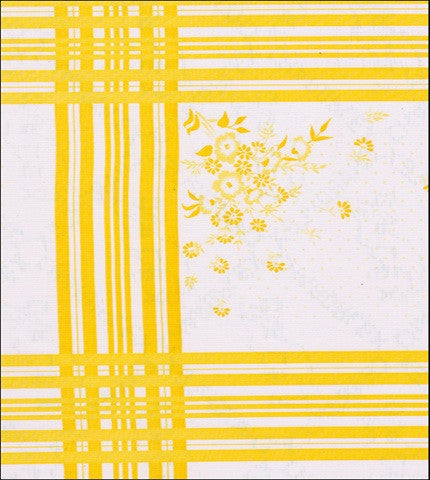 Corn Flower Yellow Oilcloth