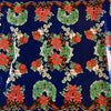 Christmas Wreath Oilcloth Fabric