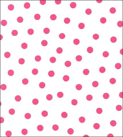 Dot Pink Oilcloth By The Yard