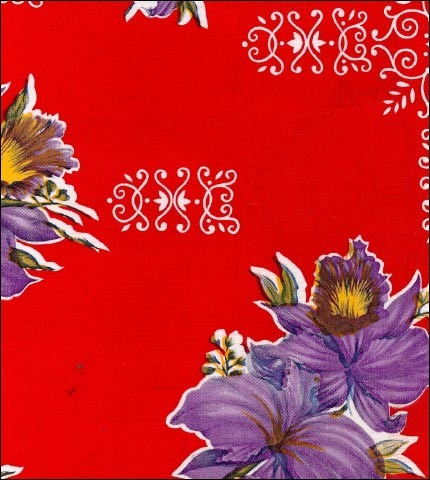 Orchid Red Oilcloth