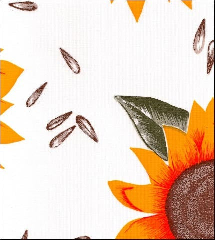 Sunflower Oilcloth