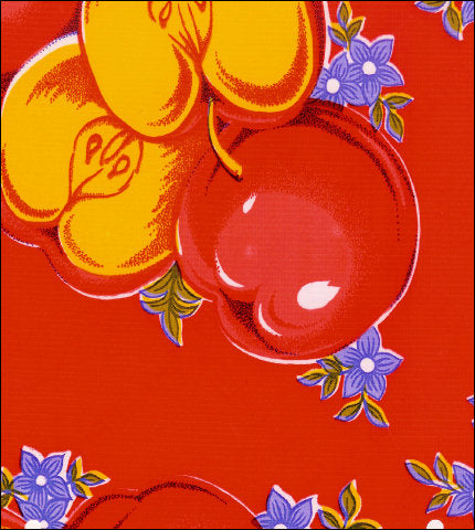 Apples Red Oilcloth