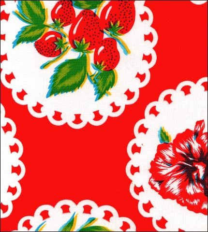 Doily 2 Red Oilcloth