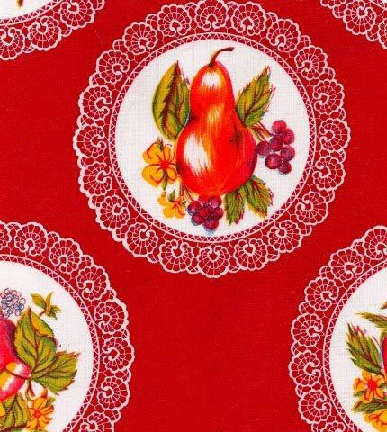 Doily Red Oilcloth Roll