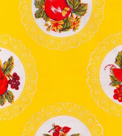 Doily Yellow Oilcloth Roll