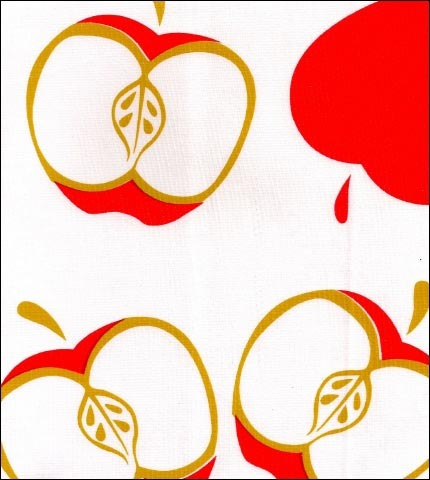 Mod Apple Red Oilcloth
