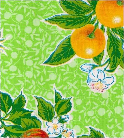 Plum Lime Oilcloth Roll