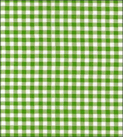 Gingham - Lime Oilcloth Fabric Roll