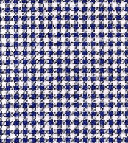 Gingham - Navy Blue Oilcloth Roll