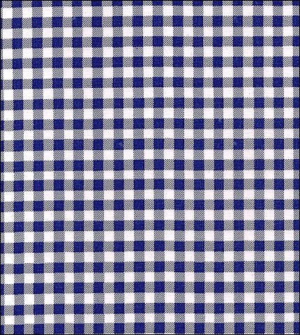 Gingham - Navy Blue Oilcloth
