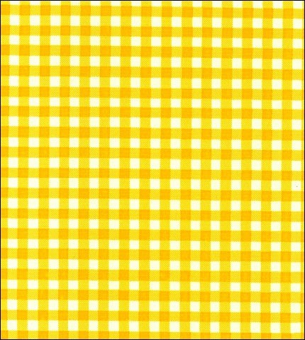 Gingham - Yellow Oilcloth