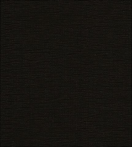 Solid Black Oilcloth Fabric