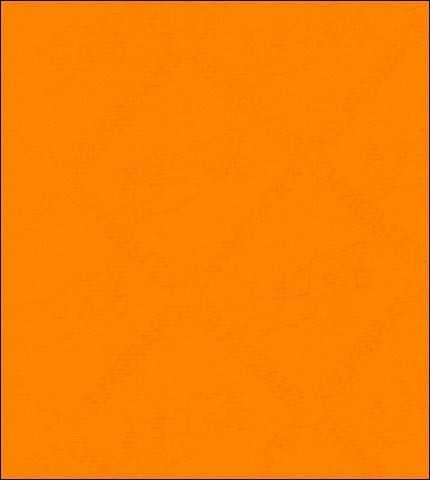 "55"" Wide Double Sided Solid Tangerine Orange Oilcloth"