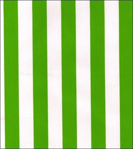 Stripe Lime Oilcloth Fabric Roll