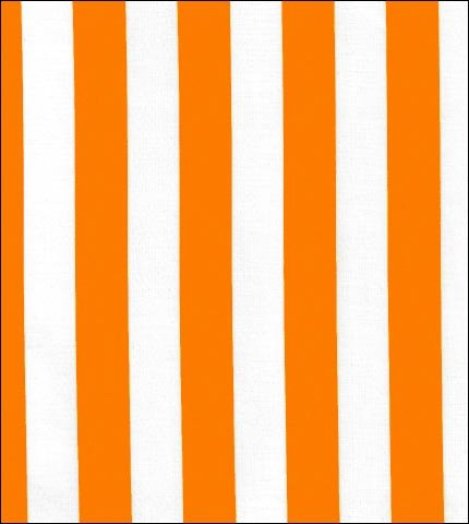 Stripe Orange Oilcloth